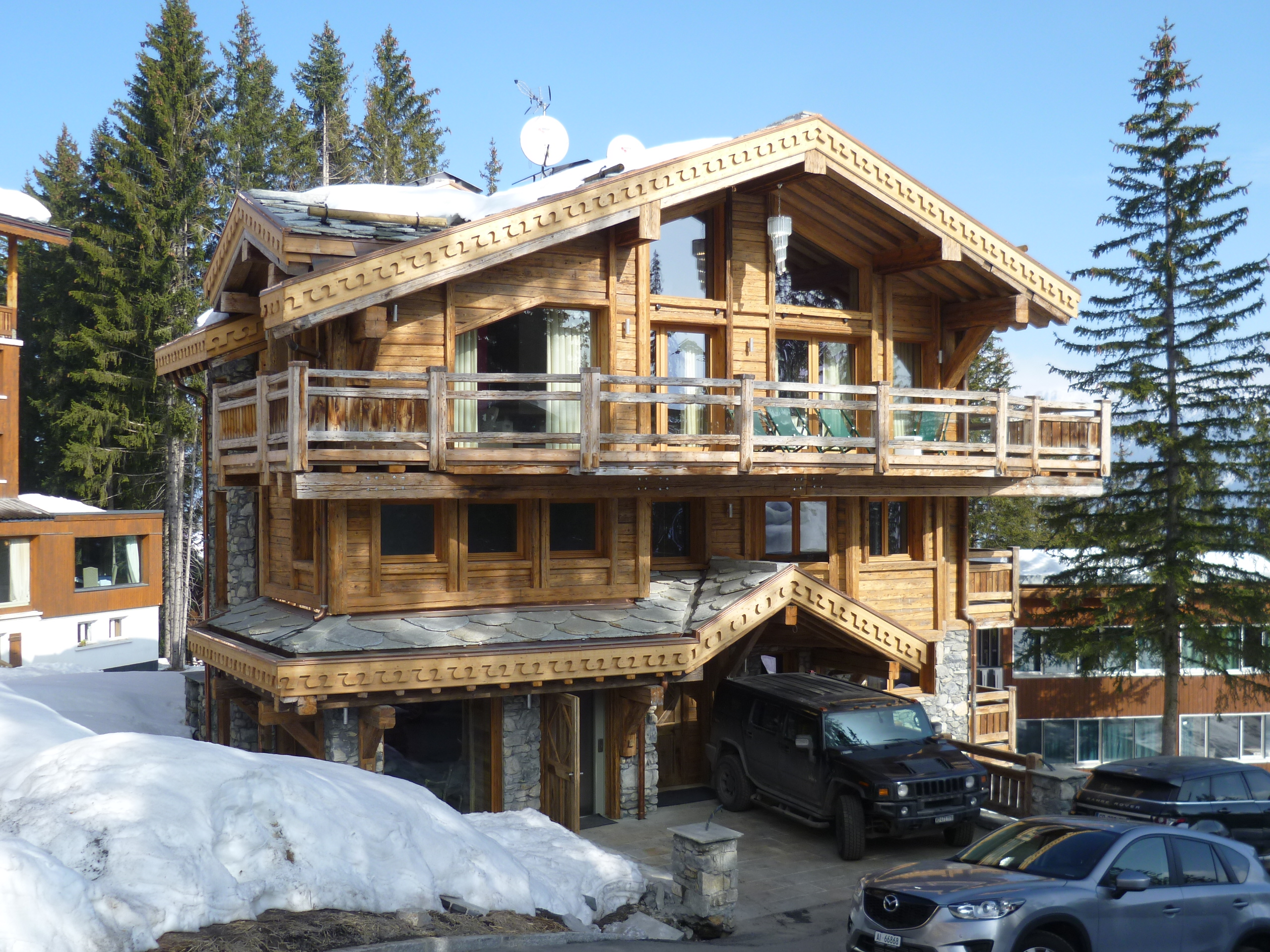 Chalet owens thura architecture architecte dplg for Architecte courchevel