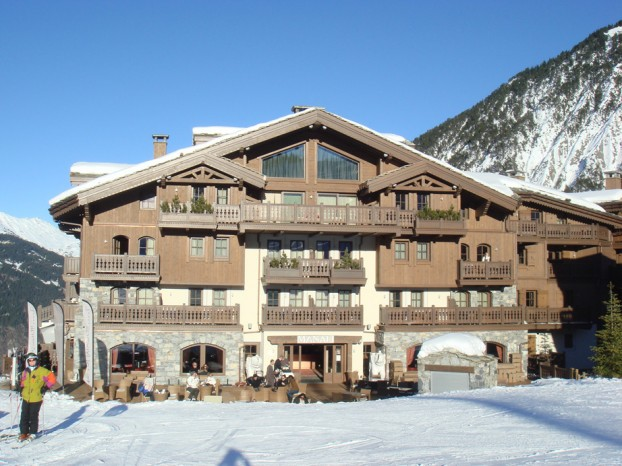 H tel le manali thura architecture architecte dplg for Architecte courchevel